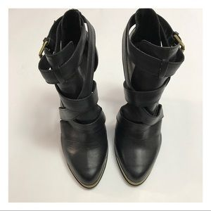 Joie semi pointed-toe booties Size 38 1/2